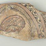 Vessel Fragment with Fish