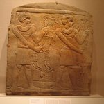 Stela of Two Deified Men(?)