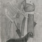Two European Women with a Dog