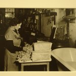 [Untitled] (Women Preparing Thread)