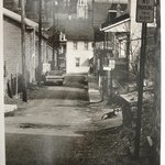 Alley in South Bethlehem, Pennsylvania