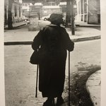 Woman with Two Canes (Paris)