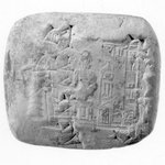 Cuneiform Tablet with Seal Impression
