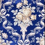 Wallpaper, pattern Embossed No.458B