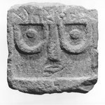 Stela with Standing Face