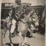 Navajo on Horse During Parade at Inter-tribal Ceremonial at Gallup, New Mexico, 1952