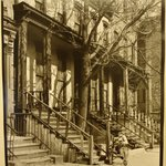 Old Apartment and Man (39 East 128th Street)