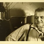 Weegee in His West 47th St., Apt. C