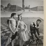 [Untitled]  (Two Male and One Female Ballet Dancers on stage)