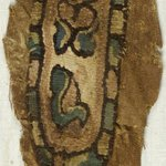 Clavus Fragment with Botanical and Geometric Decoration