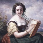 The Sketcher: A Portrait of Mlle Rosina, a Jewess