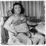 Hermaphrodite and a Dog in a Carnival Trailer, Md.