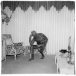 Charles Atlas Seated in His Palm Beach Home, Fla.
