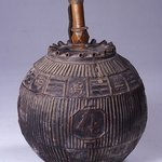 Lantern with Four Auspicious Character (Su-bok-gang-nyeong) Decorations