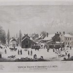 View of Front Street, Brooklyn, Long Island