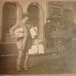 Christmas Letter Carrier, Brooklyn
