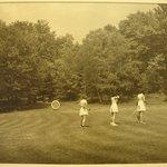 Three Women at Archery Range