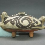 Double-Headed Duck-shaped Effigy Vessel