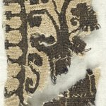 Band Fragment with Potted Botanical Decoration