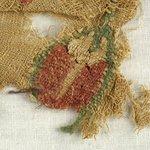 Fragment with Botanical Decoration