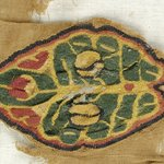Fragment with Botanical Decoration