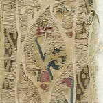 Tunic Fragments with Botanical Decoration