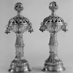 Pair of Torah Finials