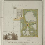 Plan of the Grounds of Matthew Clarkson, Esq. Flatbush Long Island