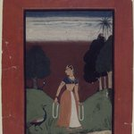 Kakubha Ragini, Page from a Dispersed Ragamala Series