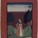 Kakubha Ragini, Page from a Dispersed Ragamala Series