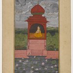 Kamodani Ragini, Page from a Dispersed Ragamala Series