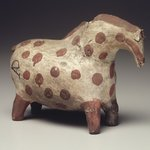 Vessel in the Shape of a Horse