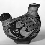 Effigy Vessel in the Form of a 2-headed bird
