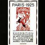[Untitled] (Poster for the 1925 Paris Exposition Internationale des Arts Decoratifs et Industriels Modernes)