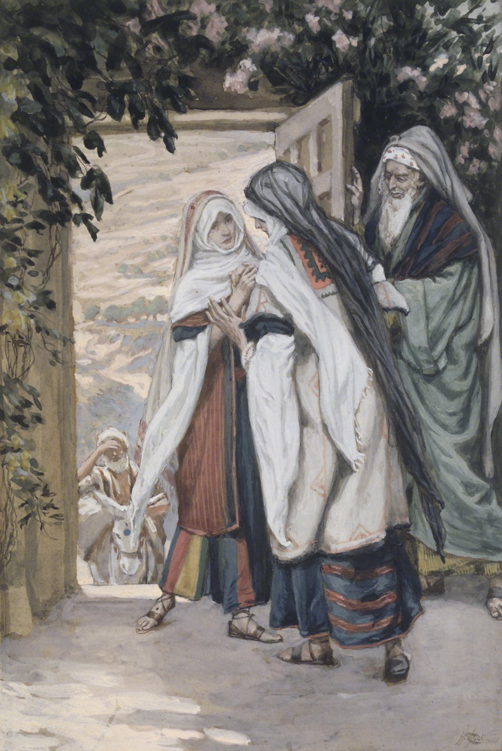the meeting of mary