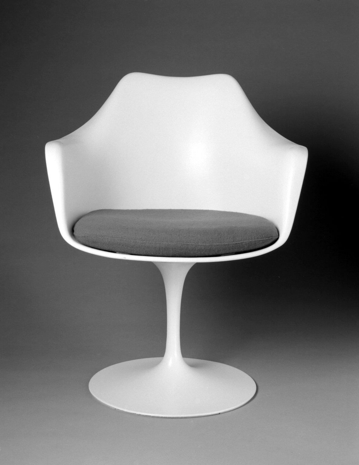'Pedestal' Armchair and Seat Cushion
