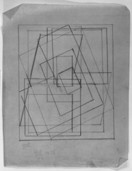 Blanche Lazzell (American, 1879-1956). <em>Untitled</em>, 1924. Graphite on thin wove paper, Sheet: 10 13/16 x 8 1/2 in. (27.5 x 21.6 cm). Brooklyn Museum, Gift of Harriette and Martin Diamond, 1989.162.1. © artist or artist's estate (Photo: , 1989.162.1_bw_SL3.jpg)
