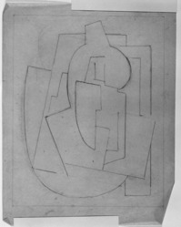 Blanche Lazzell (American, 1879-1956). <em>Untitled</em>, 1924. Graphite on thin wove paper, Sheet: 10 5/8 x 8 1/4 in. (27 x 21 cm). Brooklyn Museum, Gift of Harriette and Martin Diamond, 1989.162.2. © artist or artist's estate (Photo: Brooklyn Museum, 1989.162.2_bw_SL3.jpg)
