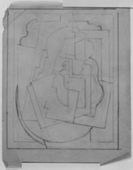 Blanche Lazzell (American, 1879-1956). <em>Untitled</em>, 1924. Graphite on thin wove paper, Sheet: 10 5/8 x 8 1/4 in. (27 x 21 cm). Brooklyn Museum, Gift of Harriette and Martin Diamond, 1989.162.4. © artist or artist's estate (Photo: , 1989.162.4_bw_SL3.jpg)