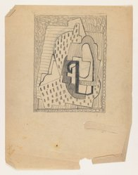 Blanche Lazzell (American, 1879-1956). <em>Untitled</em>, 1924. Graphite on thin wove paper, Sheet: 10 5/8 x 8 1/4 in. (27 x 21 cm). Brooklyn Museum, Gift of Harriette and Martin Diamond, 1989.162.5. © artist or artist's estate (Photo: Brooklyn Museum, 1989.162.5_IMLS_PS3.jpg)