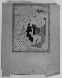 Blanche Lazzell (American, 1879-1956). <em>Untitled</em>, 1924. Graphite on thin wove paper, Sheet: 10 5/8 x 8 1/4 in. (27 x 21 cm). Brooklyn Museum, Gift of Harriette and Martin Diamond, 1989.162.6. © artist or artist's estate (Photo: , 1989.162.6_bw_SL3.jpg)