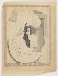 Blanche Lazzell (American, 1879-1956). <em>Untitled</em>, 1924. Graphite on thin wove paper, Sheet: 10 5/8 x 8 1/4 in. (27 x 21 cm). Brooklyn Museum, Gift of Harriette and Martin Diamond, 1989.162.7. © artist or artist's estate (Photo: Brooklyn Museum, 1989.162.7_IMLS_PS3.jpg)