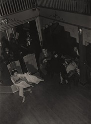 Aaron Siskind (American, 1903-1991). <em>Nightclub I</em>, ca. 1937. Gelatin silver photograph, Sheet: 14 x 10 7/8 in. Brooklyn Museum, Gift of Dr. Daryoush Houshmand, 1989.193.17. © artist or artist's estate (Photo: , 1989.193.17_PS9.jpg)