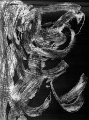 Donn Steward (American, 1921-1986). <em>Shorescape V</em>, 1979. Etching and aquatint on paper, sheet: 21 7/8 x 29 5/8 in. (55.6 x 75.2 cm). Brooklyn Museum, Gift of Nola Zirin, 1989.36. © artist or artist's estate (Photo: Brooklyn Museum, 1989.36_bw.jpg)