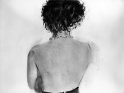 Gary Bower (American, born 1940). <em>Untitled</em>, 1978. Pastel with debossing, 22 x 30 in. (55.9 x 76.2 cm). Brooklyn Museum, Gift of Michael R. Klein in memory of William Garbe, 1989.83.1. © artist or artist's estate (Photo: Brooklyn Museum, 1989.83.1_bw.jpg)