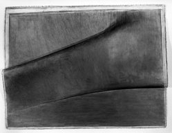 Louis Lieberman. <em>Tarboosh</em>, 1981. Graphite on paper, 38 x 29 1/2 in. (96.5 x 74.9 cm). Brooklyn Museum, Gift of Paul Taylor, 1989.85. © artist or artist's estate (Photo: Brooklyn Museum, 1989.85_bw.jpg)