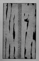 Günther Förg (German, 1952 - 2013). <em>[Untitled]</em>, 1989. Etching, aquatint and drypoint, Sheet (folio): 14 5/8 x 12 3/4 in. (37.1 x 32.4 cm). Brooklyn Museum, Helen Babbott Sanders Fund and John W. James Fund, 1990.123.16. © artist or artist's estate (Photo: Brooklyn Museum, 1990.123.16_bw.jpg)