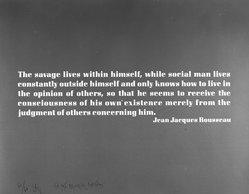 Joseph Kosuth (American, born 1945). <em>Ex Libris The Brooklyn Museum</em>, 1990. Screenprint, 22 x 28in. (55.9 x 71.1cm). Brooklyn Museum, Gift of the artist, 1990.208. © artist or artist's estate (Photo: Brooklyn Museum, 1990.208_bw.jpg)
