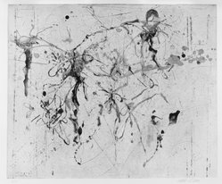 Michael Tetherow (American, 1942-2007). <em>Intaglio Suite</em>, 1990. Intaglio, sheet: 22 x 30 in. (55.9 x 76.2 cm). Brooklyn Museum, Alfred T. White Fund, 1991.19.1. © artist or artist's estate (Photo: Brooklyn Museum, 1991.19.1_SL3.jpg)