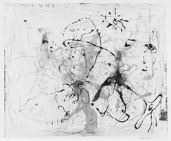 Michael Tetherow (American, 1942-2007). <em>Intaglio Suite</em>, 1990. Intaglio, sheet: 22 x 30 in. (55.9 x 76.2 cm). Brooklyn Museum, Alfred T. White Fund, 1991.19.3. © artist or artist's estate (Photo: Brooklyn Museum, 1991.19.3_SL3.jpg)